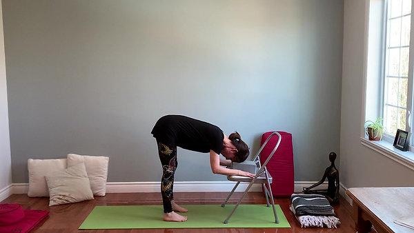 Flexion avant supportée