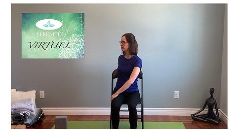 Séance de yoga doux