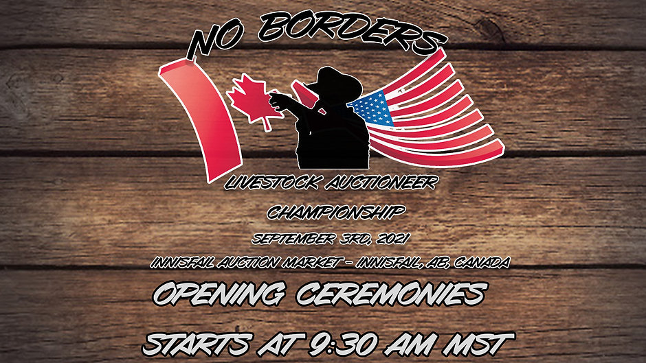 No Borders Auctioneer Championship 2021