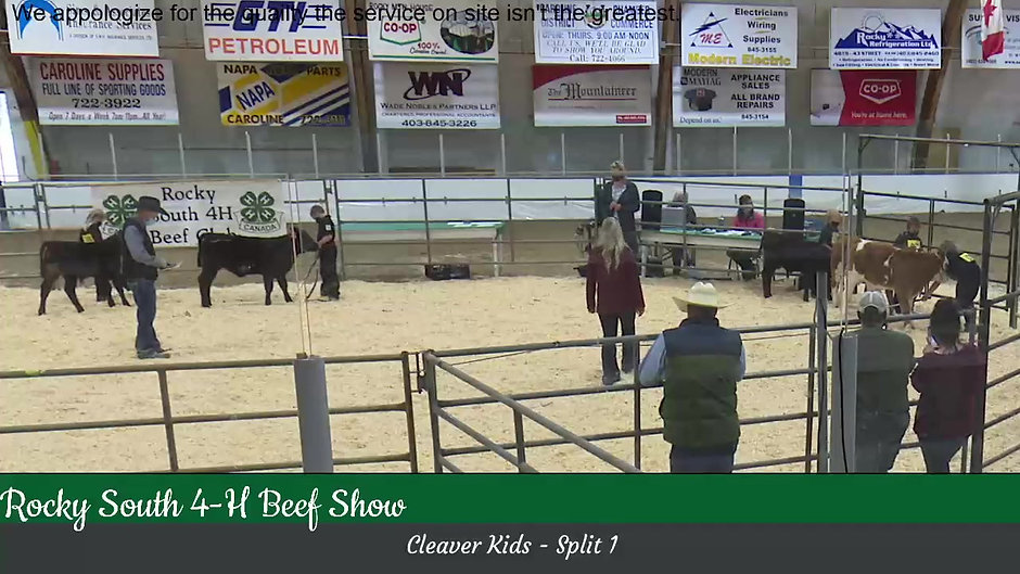 Rocky South 4-H Beef Show 2021
