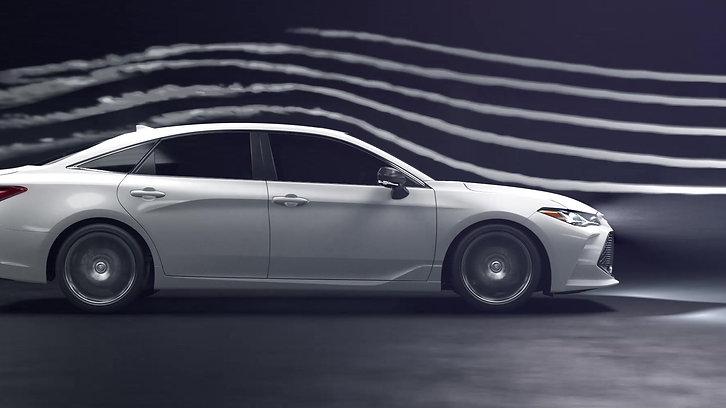 Avalon Aerodynamics (Toyota.com)