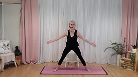 Yoga Stretch Mat + Chair Options Oct 2021