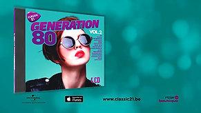 RTBF - Classic 21 - Compilation Génération 80 vol2