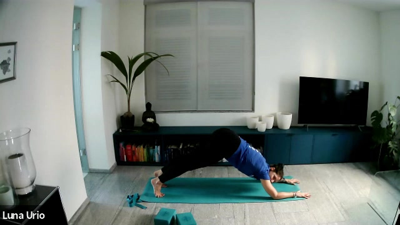 1H Yoga Flow for Back and Core Strength