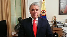 President Duque of Colombia