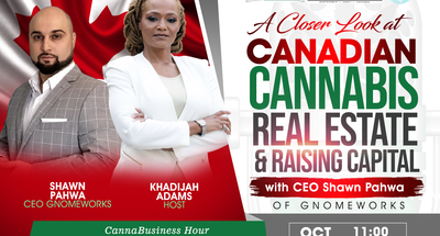 Canna Business Hour - Episode 3 - A Closer Look in Canadian Cannabis & Securing Funding for Your Business During COVID-19 (Revision 1)