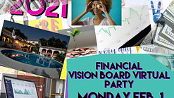 My Annual Financial Vision Board Party!
