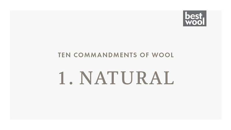 1. Natural - Best Wool