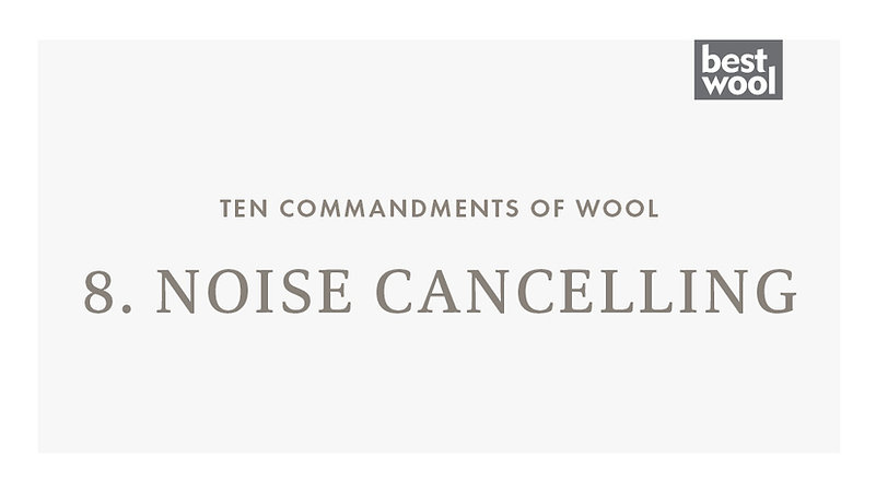 8. Noise Cancelling - Best Wool