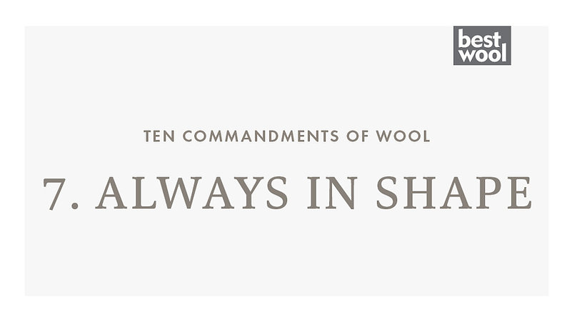 7. Always in Shape - Best Wool