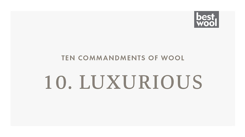 10. Luxurious - Best Wool