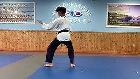 1st Black Belt 1 Stripes Palgwae 1 Jang