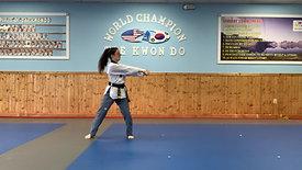 1st Black Belt 0 Stripes Koryo