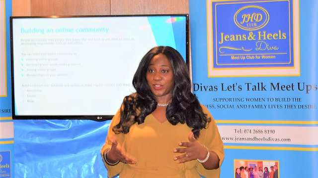 Divas Let's Talk with Coach Carmel Britto