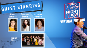 S4 Ep4 Emerson Steele sings, Alexa and Josh sing HSM, Rising Starz performs, Arianna Pereira stars