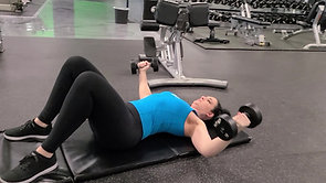 Dumbbell Fly to Close-Grip Press