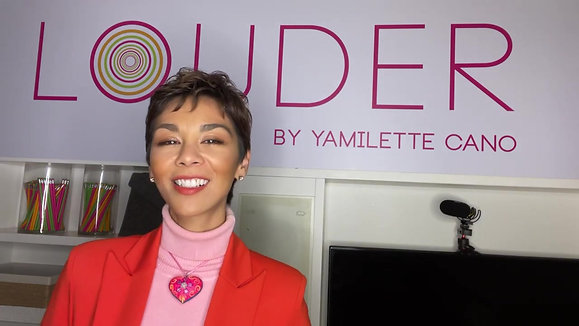 Yamilette Cano, founder of LOUDER Global, on her vision of success