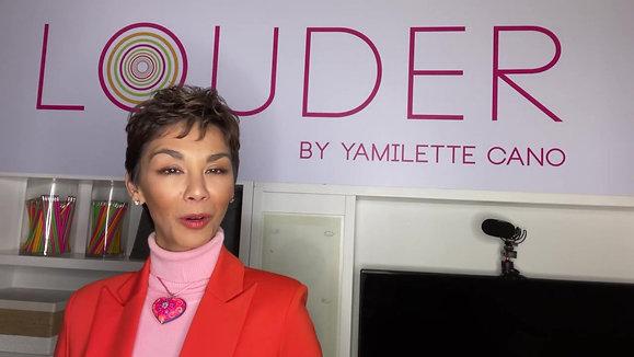 Yamilette Cano, founder of LOUDER Global, on her definition of entrepreneurship