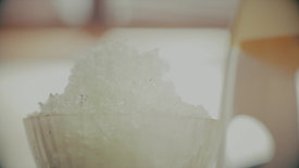 かき氷、食べます!