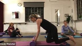 4:10 Evening Pilates (roller)