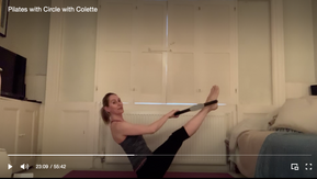 Discount Intermediate Pilates with Circle with Colette