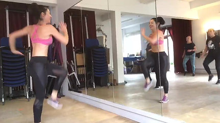25/9 Dance fit with Aimee