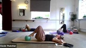 10:7 Pilates with Carolyn (ball)