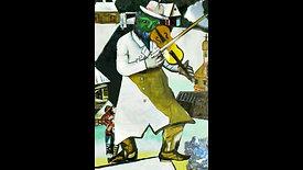 [샤갈] 바이올린 연주자
