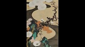 [이토 자쿠츄] 백국유수 수금도