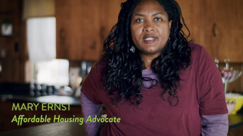 Mary Ernst, Affordable Housing Advocate