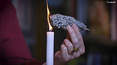 03 - How to use a Sage smudge
