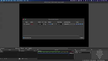 Setting Up OBS sound for live streaming - Sam Lynam