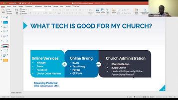 Using tech to reach your congregation - Prince Ekpemandu