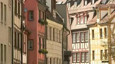 Средневековый фахверк в Германии