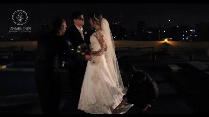 Bastidores de um casamento