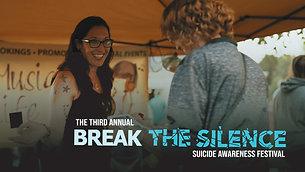 Break the Silence Suicide Awareness Festival Promo