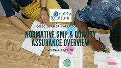 """Corso di Alta Formazione in """"Normative GMP & Quality Assurance Overview"""""""