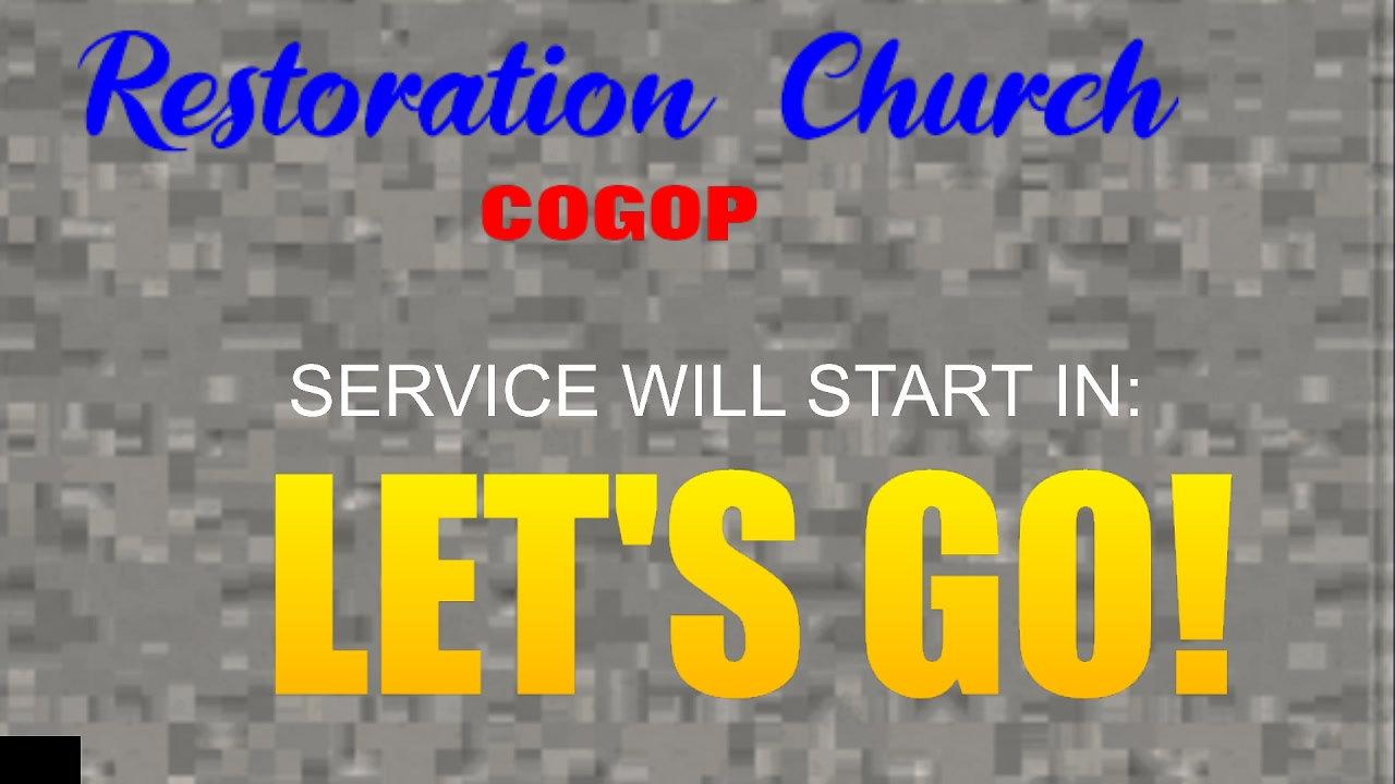 Pastor's Sermons