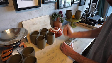 Custom Cretan Spiral Mugs