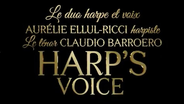 Présentation du duo Harp's Voice