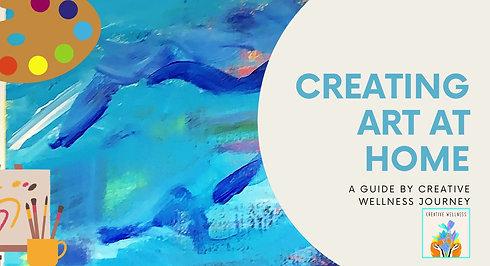 Creating Art At Home