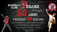 50 Anni Baseball Pesaro