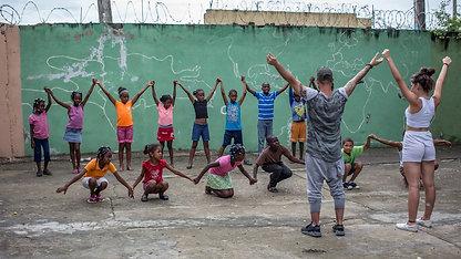 Tanz-Camp 2017 im Kinderhilfswerk Dominino