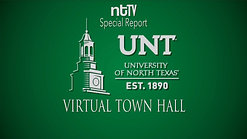 ntTV Covers: UNT Virtual Town Hall 5-4-2020
