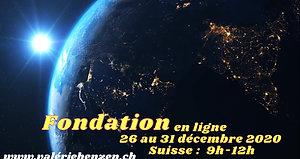 PUB FONDATION Valérie Henzen  2020