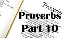 Proverbs Part 10