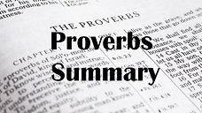 Proverbs Summary
