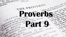 Proverbs Part 9