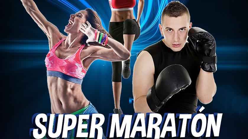 Maratón Bailable/ Con tu aporte volveremos mas fuertes