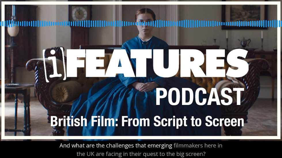 Podcast - iFeatures from Creative England (Voiceover by Andy Johnson)